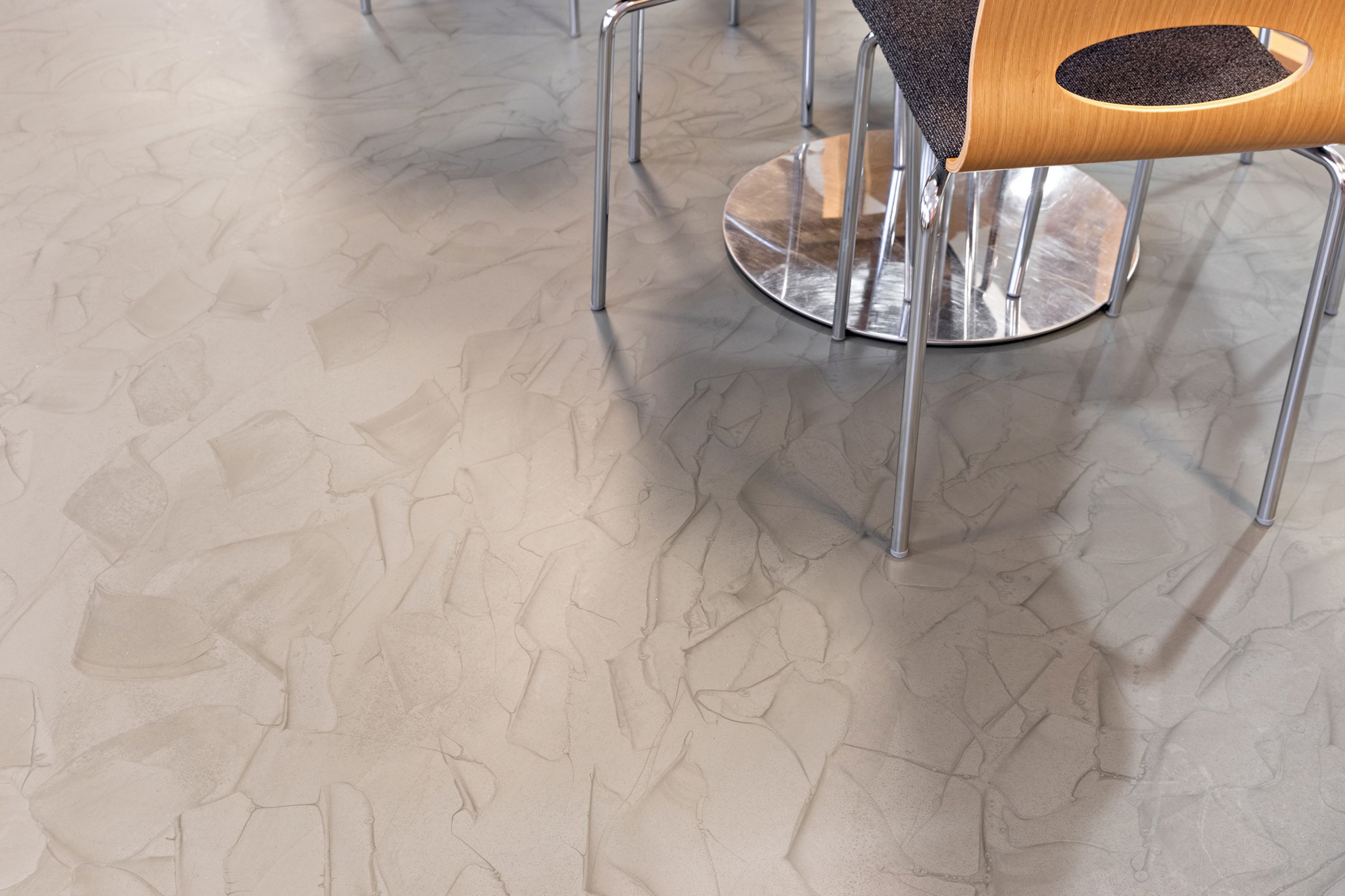 Sika ComforFloor in the canteen and  break rooms of the Oulu City Hall in Finland