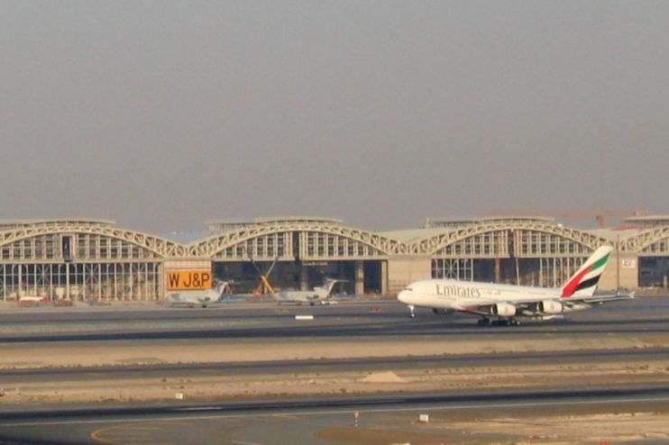 Dubai International Airport Hangars