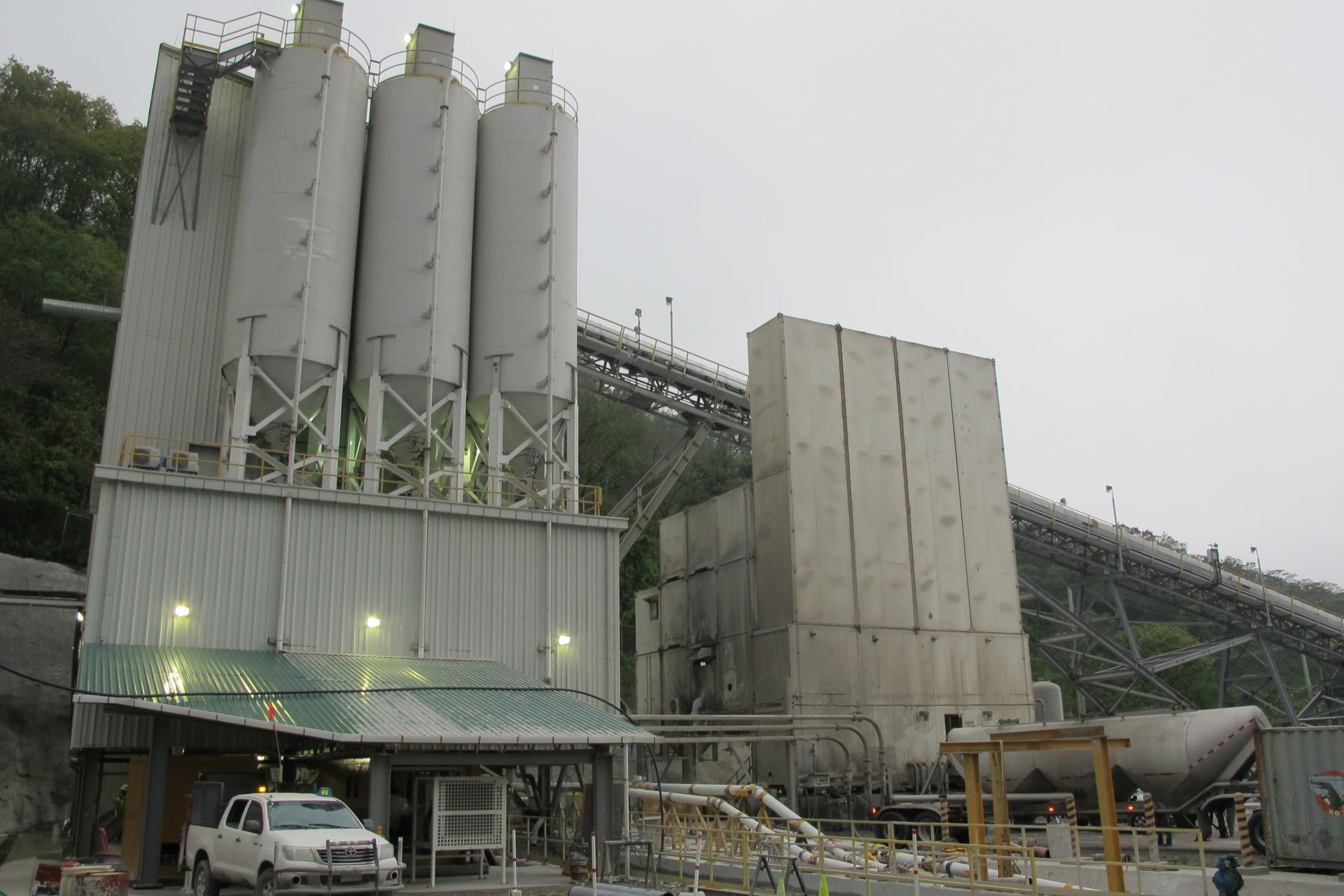 Paste Plant at El Escobal Mine