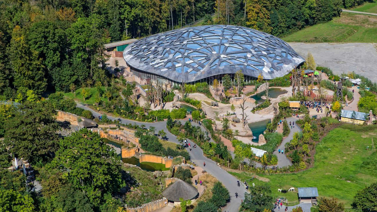 Kaeng Krachan Elephant Park surrounded by nature in Zurich, Switzerland