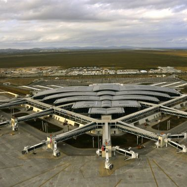 Terminal Building of the Enfidha Airport in Tunisia