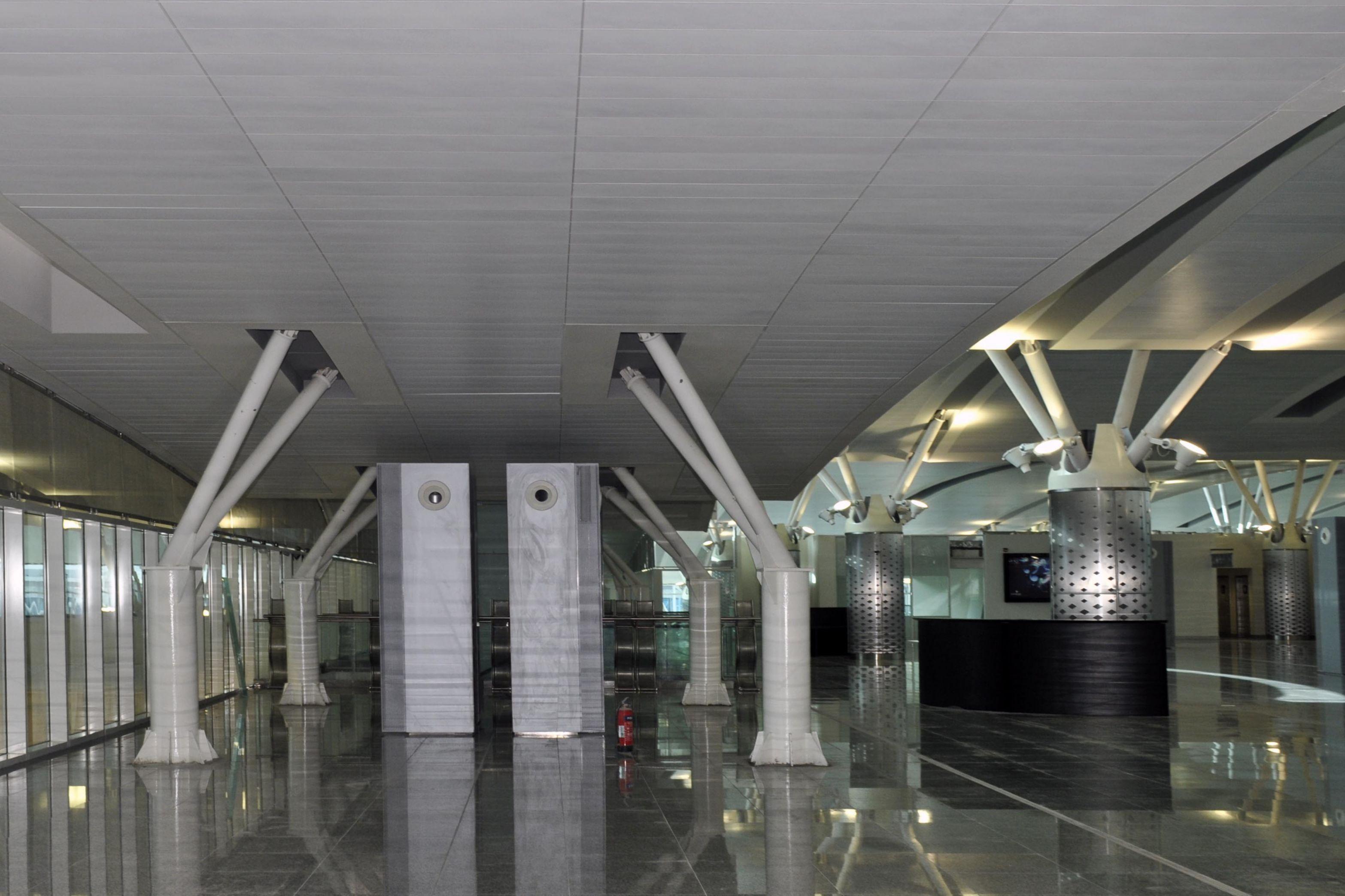 Departure area of Enfidha Airport, Tunisia