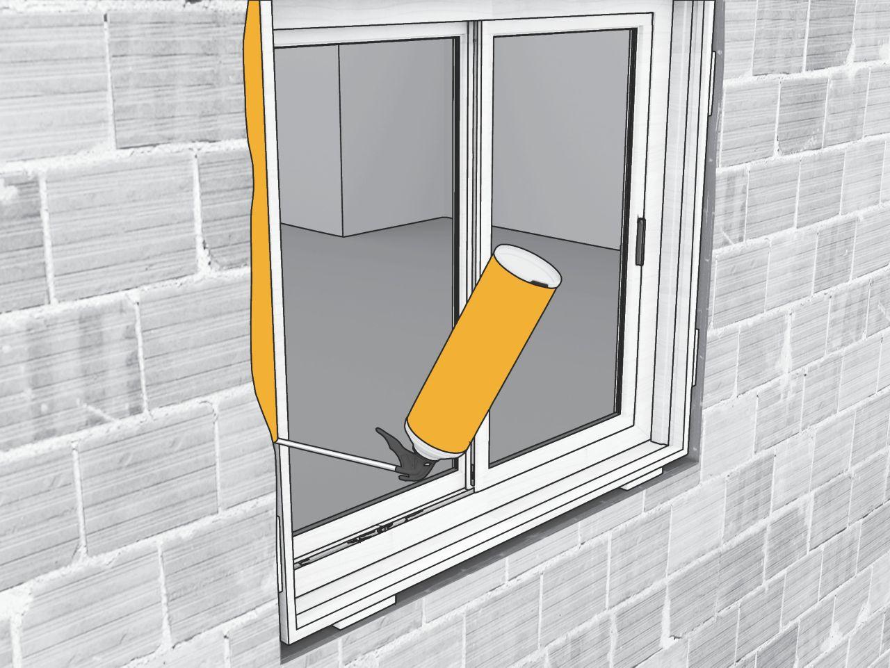 sika boom ventanas
