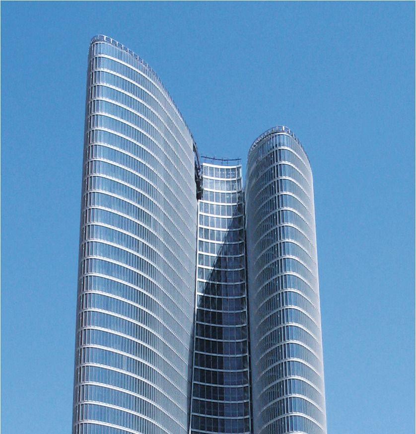 Reference for facade aida building, abu dhabi, UAE