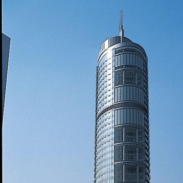 Reference for bonded facade jingsu telecom building china