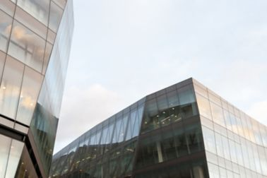 One-new change building in london bonded with Sika adhesives