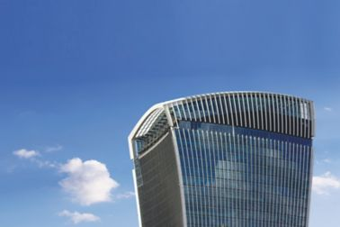Reference of facade business walkie talkie 20 Fenchurch street london uk