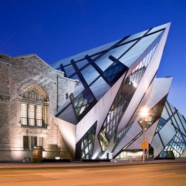 Royal Ontario Museum Facade