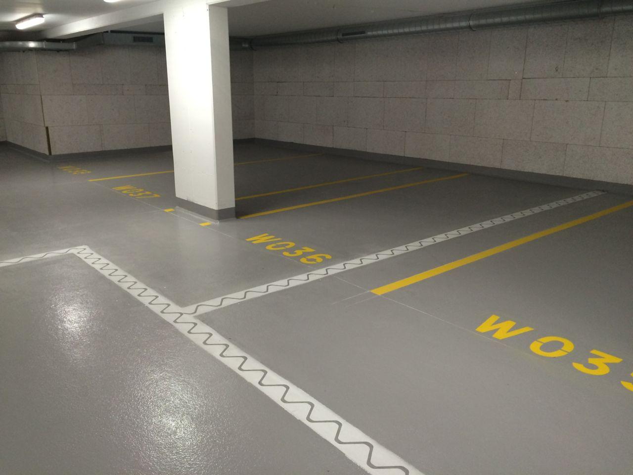 parkkialueen lattia Australia