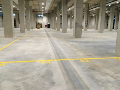 Space industry slabs, panels and flooring of floors and coatings