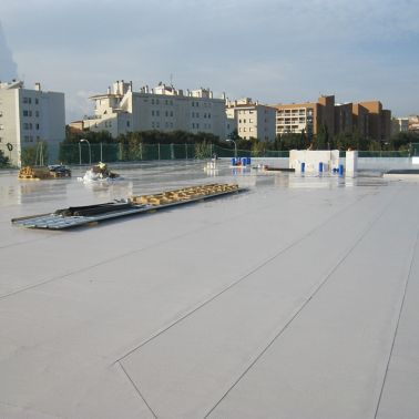 Roof of the Girona Supermarket