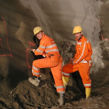 Construction Site of the Gotthard Base Tunnel