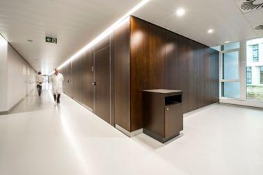 Single-bed room in AZ Groeninge Hospital in Kortrijk Belgium