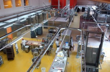 Hygenic flooring systems at Pilger Bakery in Germany