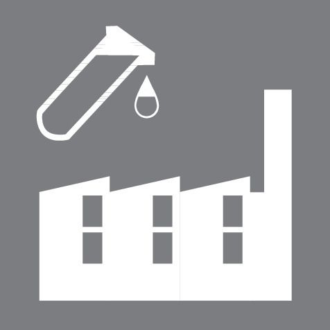 Manufacturing Plant Chemical Icon