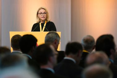 Ileana Nicolae, Head of Europe East, at the AGM 2016