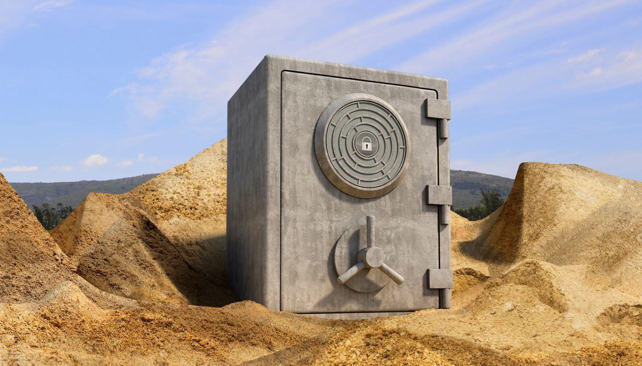 písek jako surovina pro beton