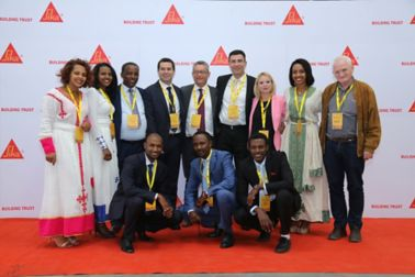 Inauguration ceremony of the new plant in Ethiopia