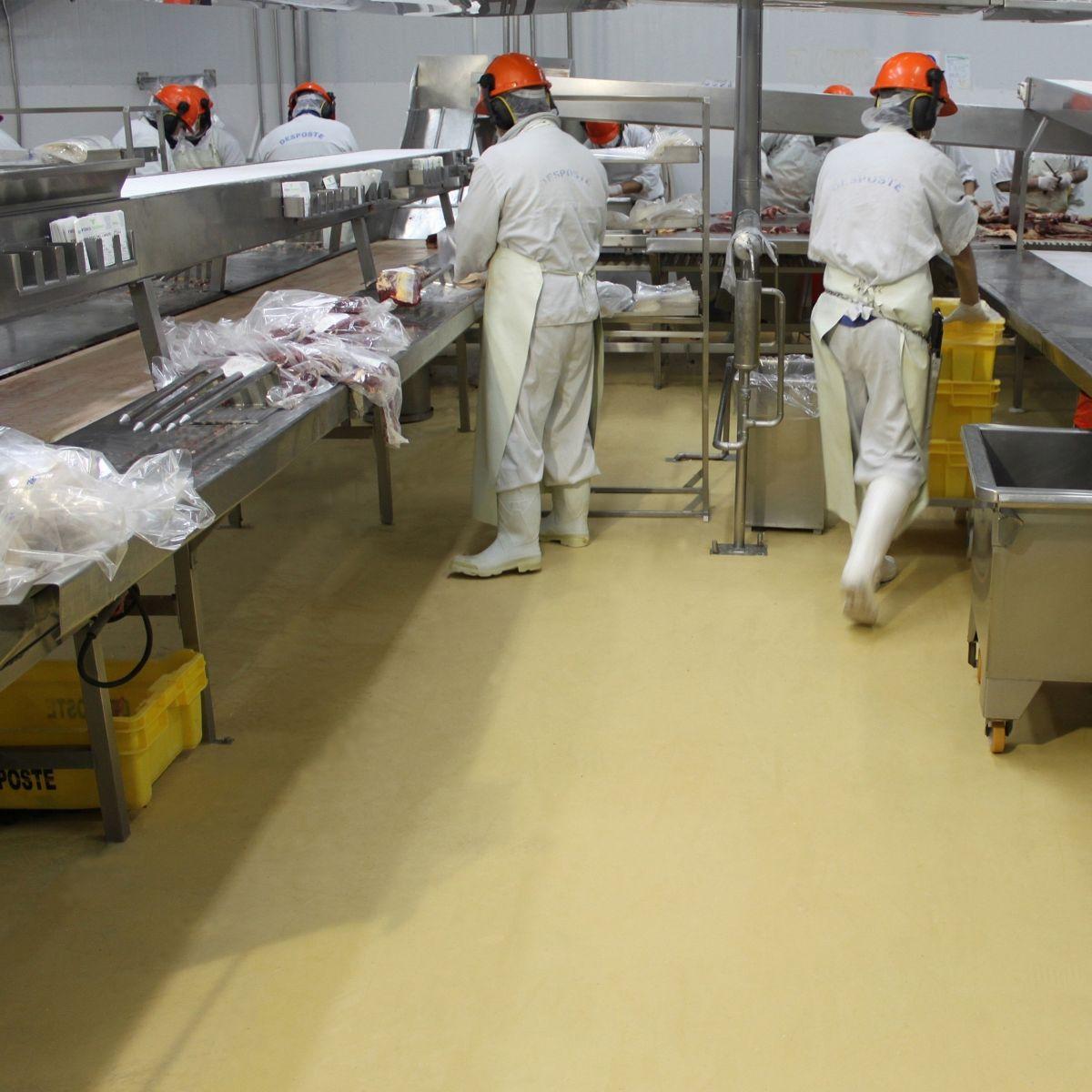 Slip Resistant Flooring In Food