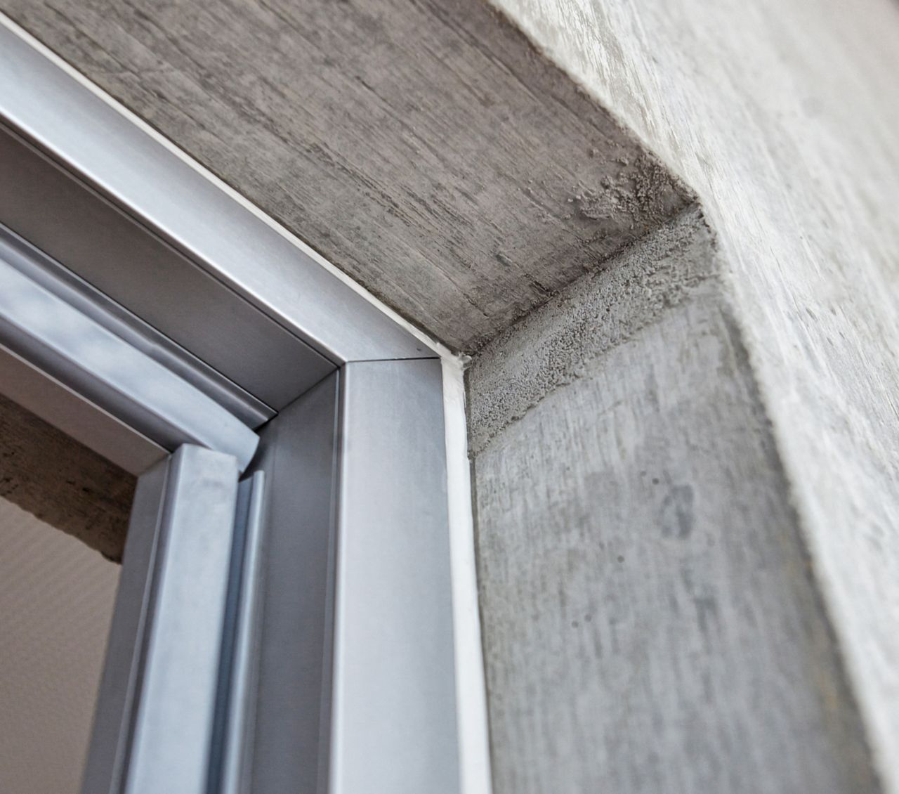 Window joint sealing
