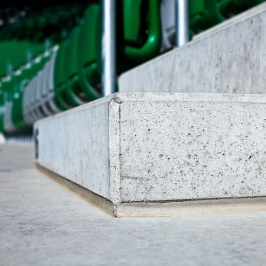 Joint sealing at Municipal Stadium in Wroclaw, Poland