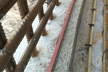 Application of joint waterproofing - Sikafuko Injection