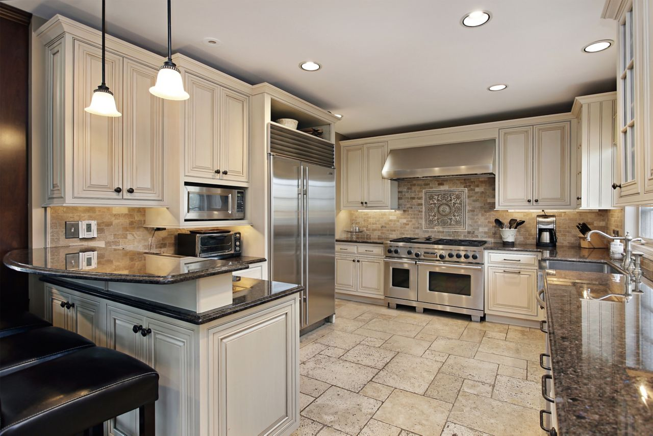 Kitchen in a residential building