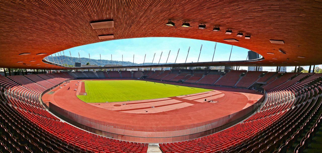 Letzigrund Stadium in Zurich Switzerland corrosion resistance roof