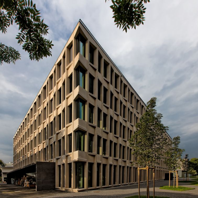 Sika office building in Zurich