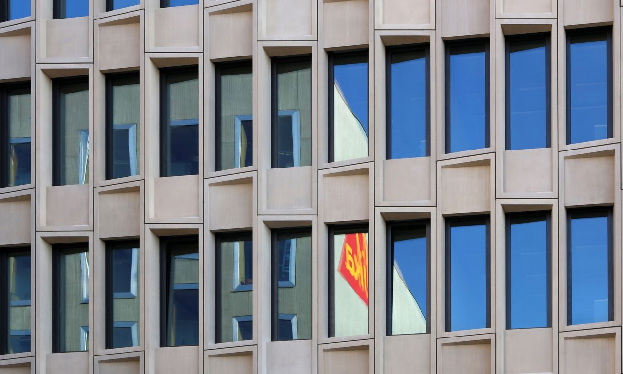 The Limmat Office Building on Sika premises in Zurich