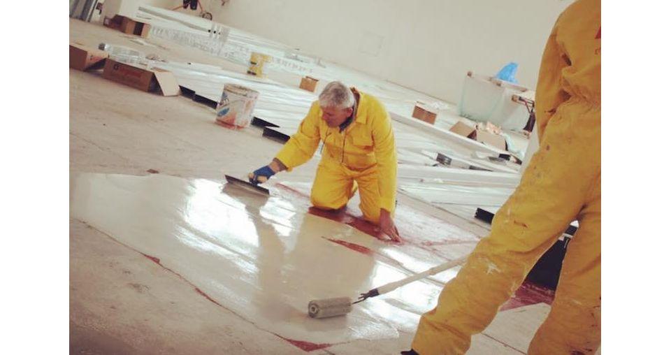 Sika staff volunteering