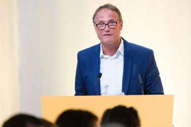 Marc Possa, VV Vermögensverwaltungs AG, at the Extraordinary GM 2018