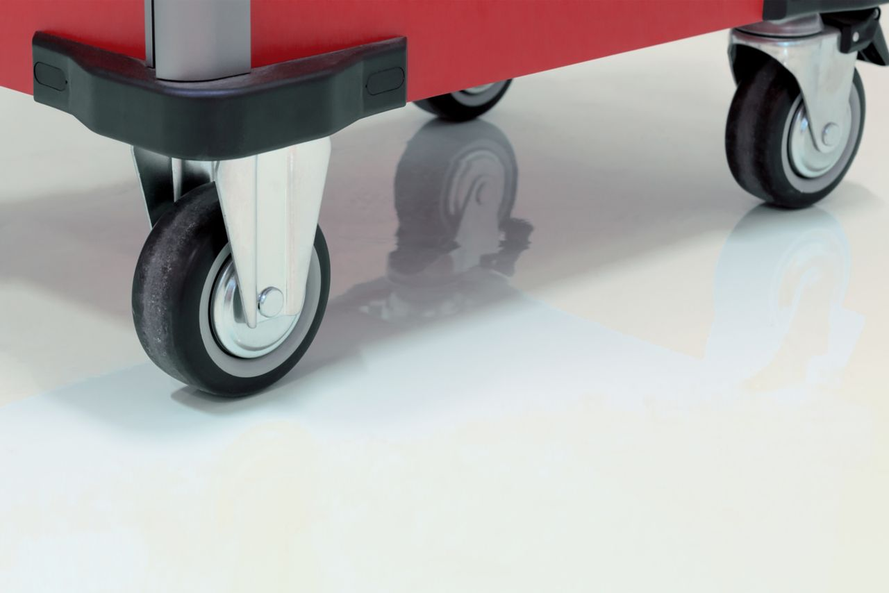 Sikafloor-lattiapinnoite kestää huonekalupyöriä