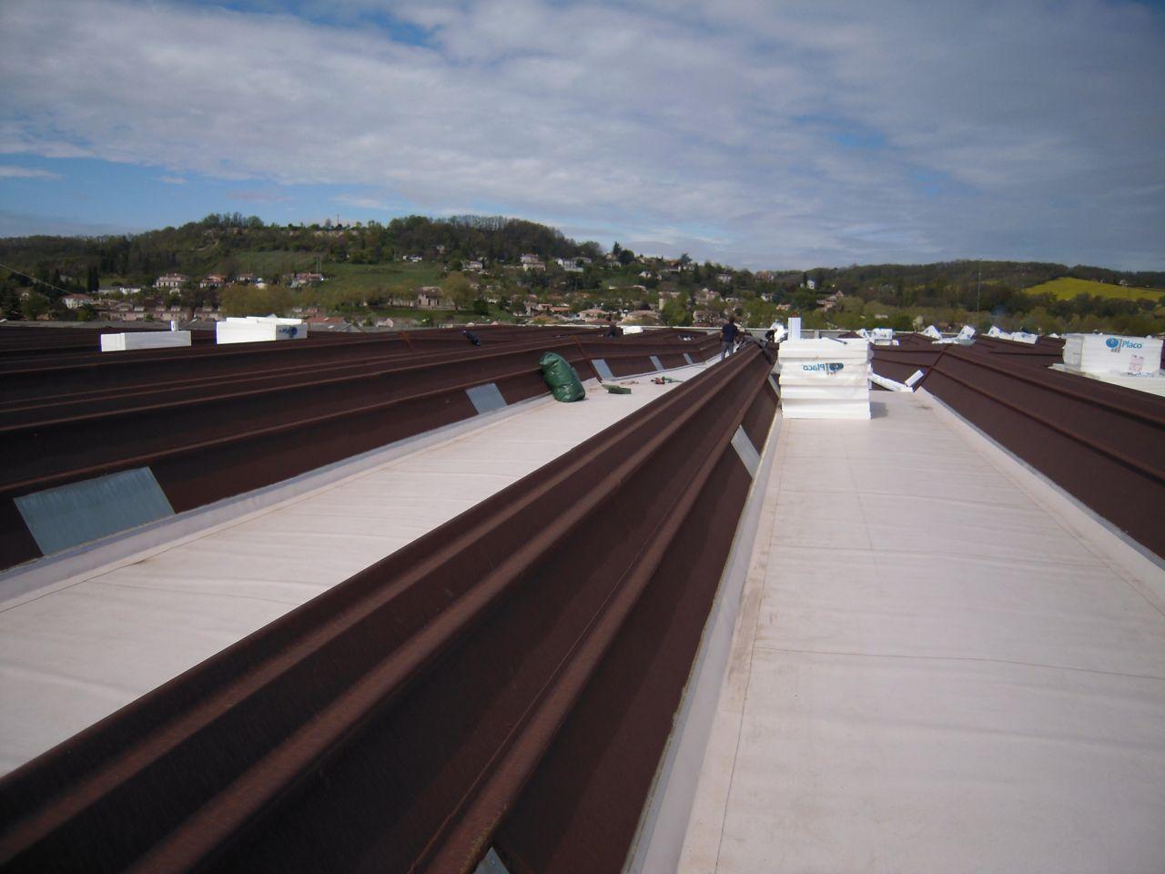 kovové střechy