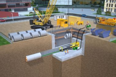Sika Products for Microtunneling