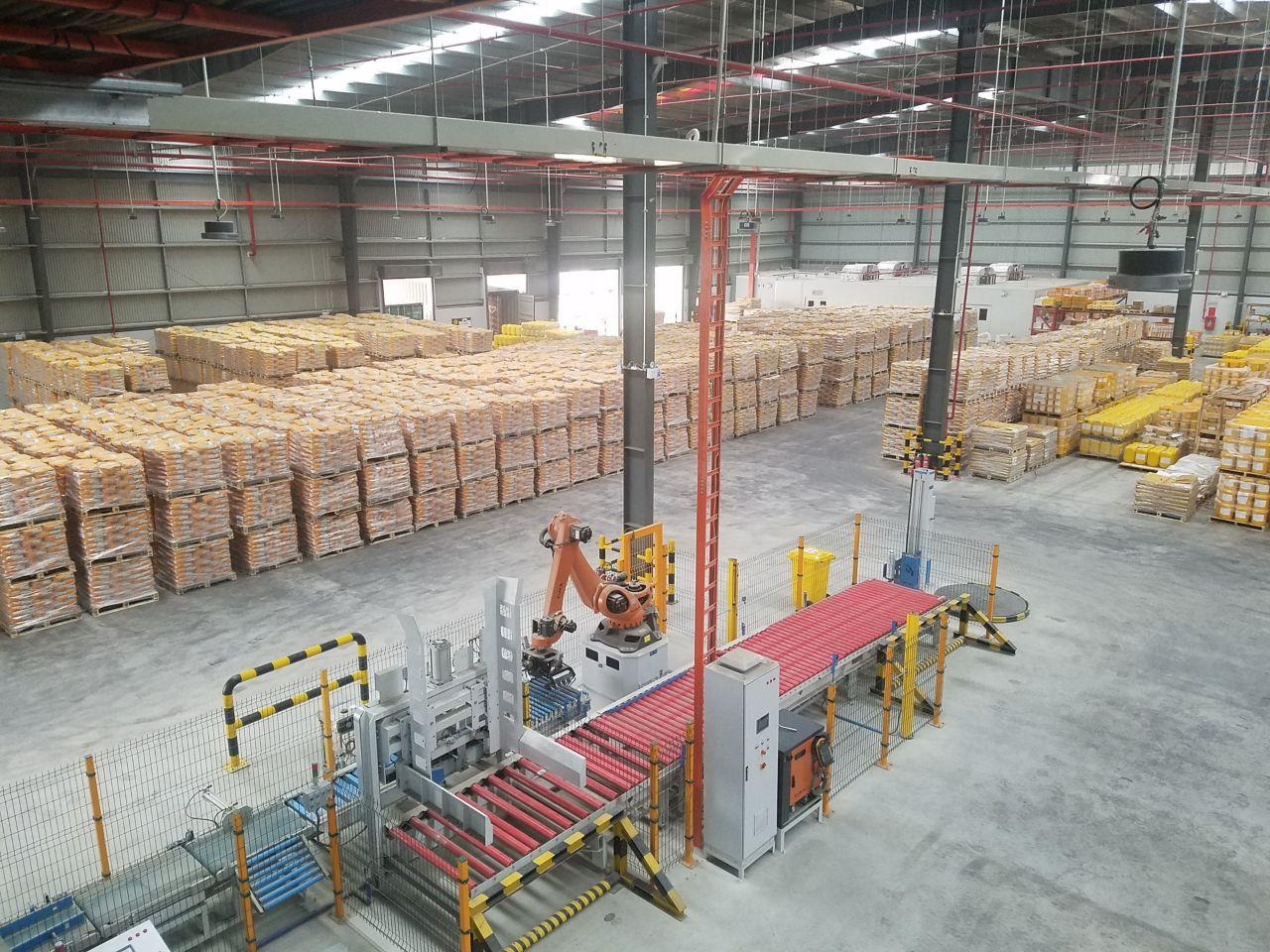 Mortar plant Vietnam