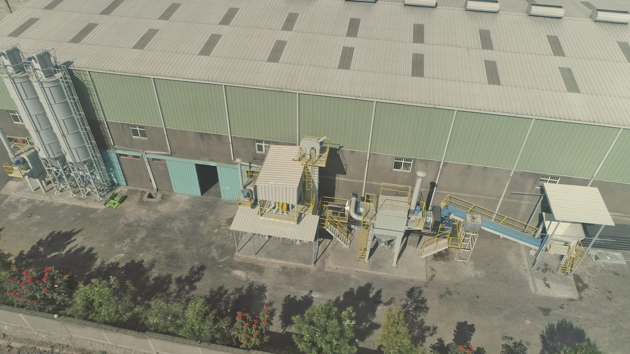 New Mortar Plant in Ethiopia, November 2019