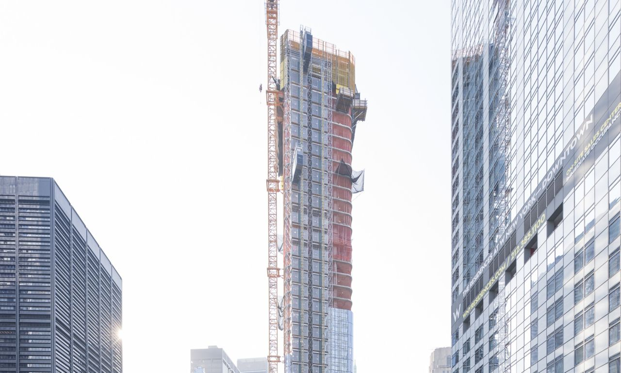 125 Greenwich Street is a residential supertall skyscraper in New York