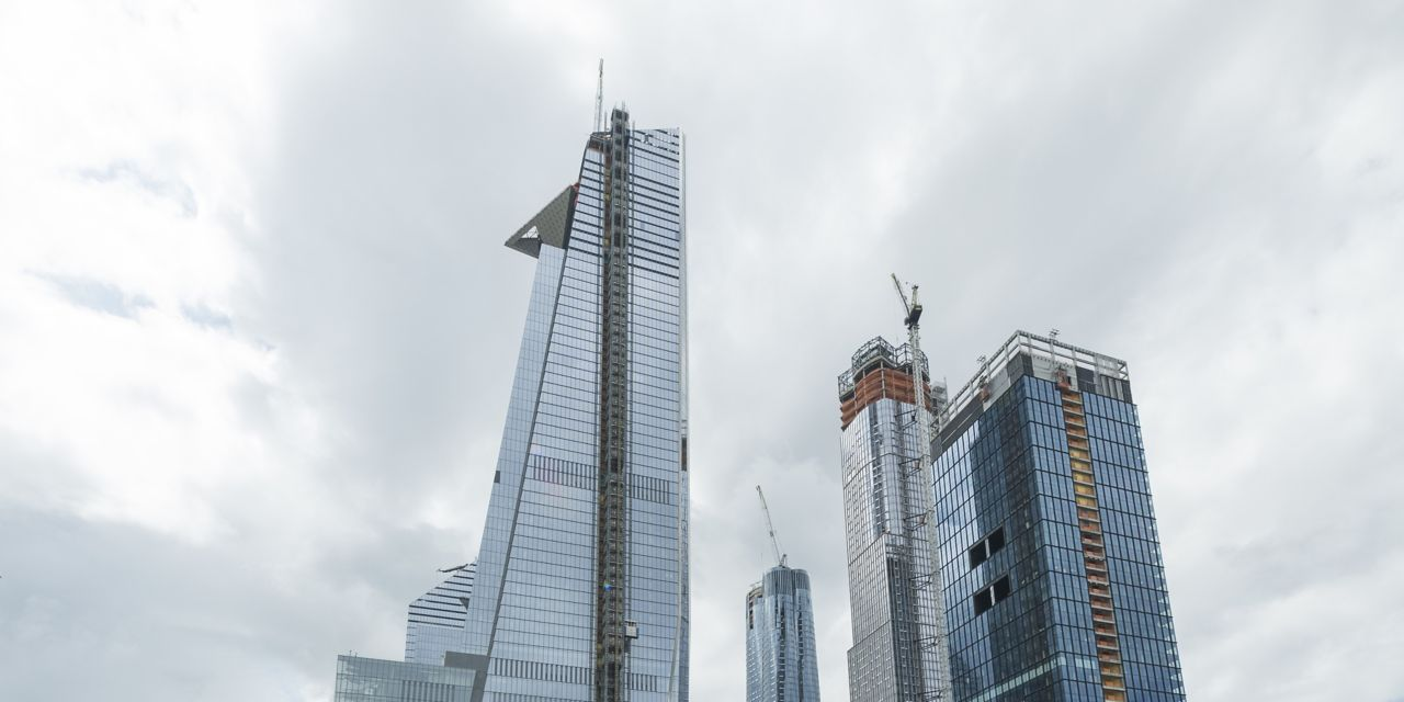 Hudson Yards, the largest private real estate development in New York
