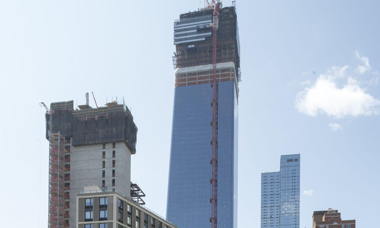 Multi-building development project Manhattan West, New York