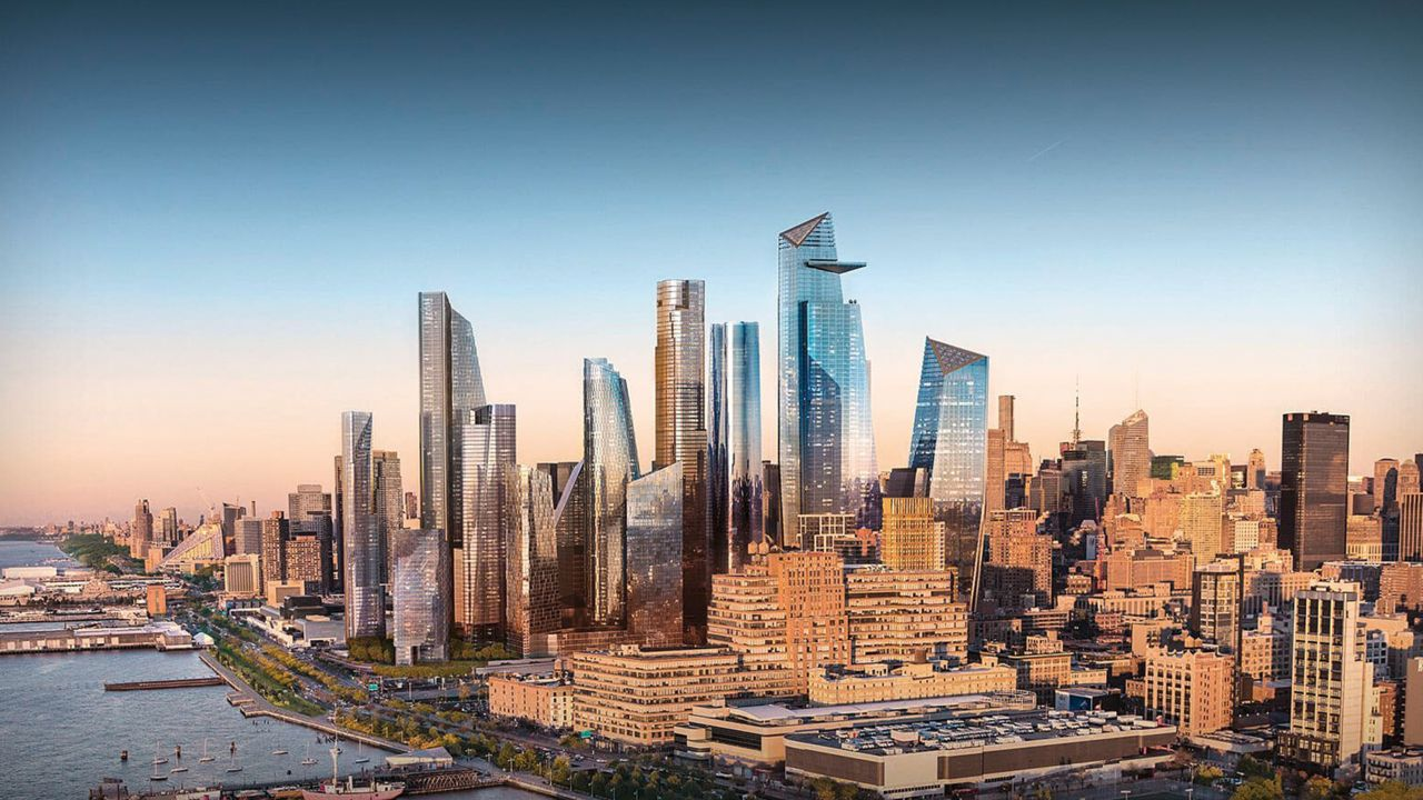 The Hudson Yards project in New York