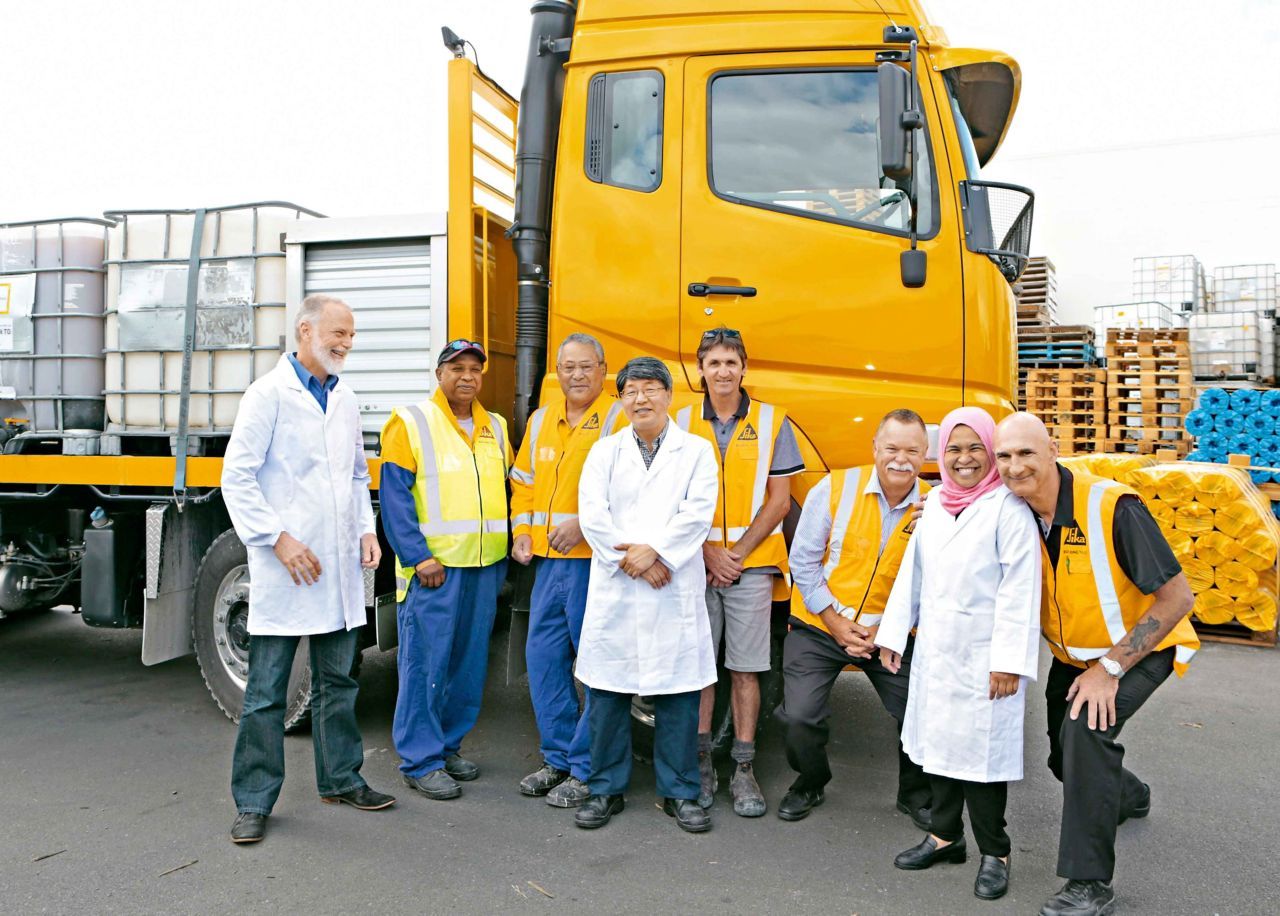 Sika Team New Zealand
