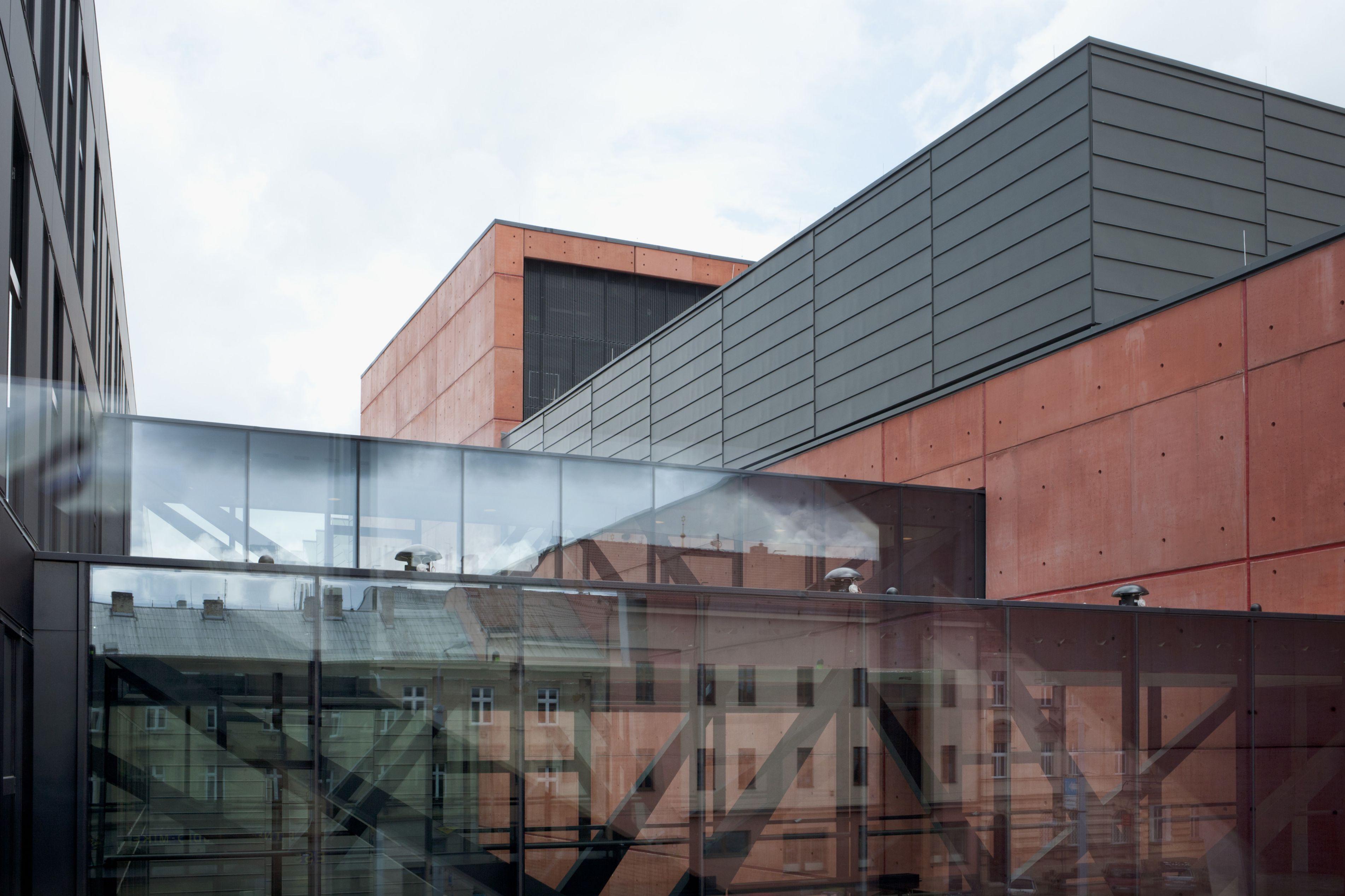 Nove Divaldo Theatre in Pilsen, the Czech Republic, built with Sika Architectural Concrete