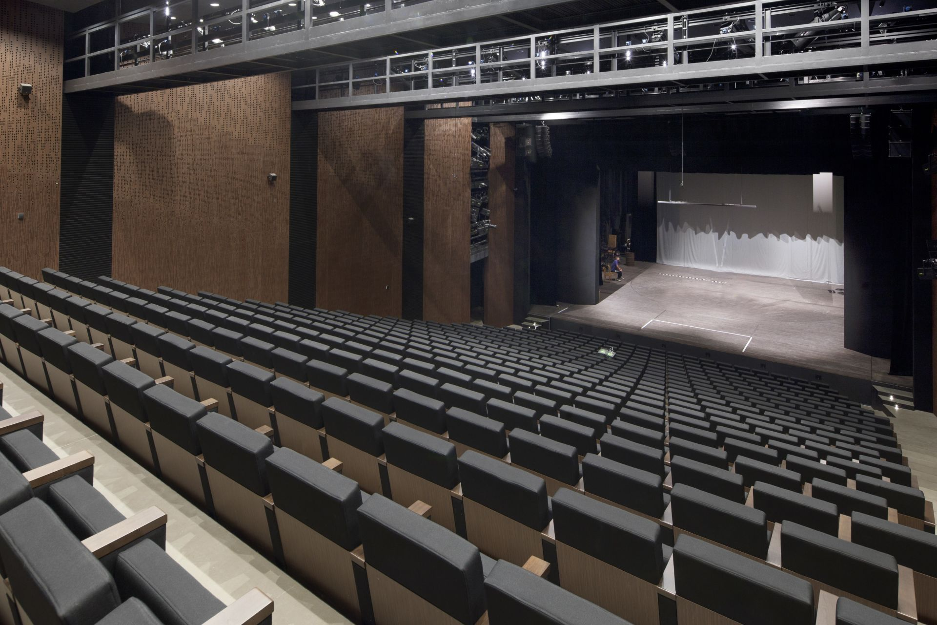Nove Divaldo Theatre in Pilsen, the Czech Republic, built with Sika Architectural Concrete