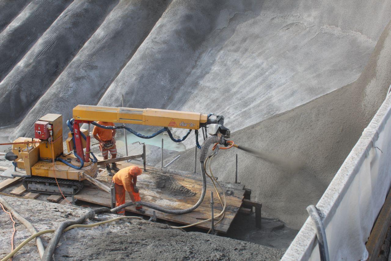 Stříkaný beton Sika