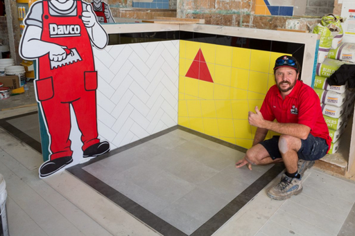Davco tiler competition in Australia