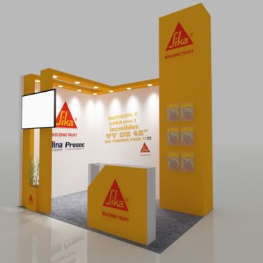 New design concept for trade shows in Chile