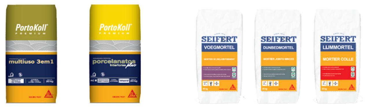 PortoKoll and Seifert dual branding on packaging