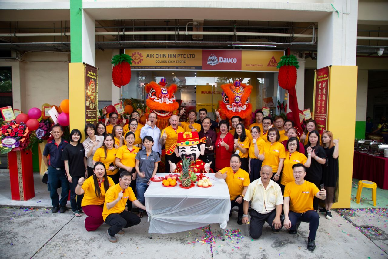 Official opening of the Golden Store, February 2020