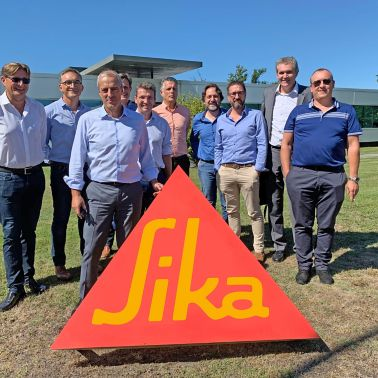 Cross-selling meeting in the South West of France with Sika and Parexlanko management teams